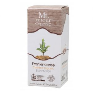 Mt Retour Frankincense Certified Organic Essential Oil 10ml