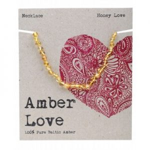 Amber Love Child Necklace Honey Love