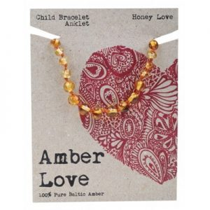 Amber Child Bracelet Anklet Honey Love