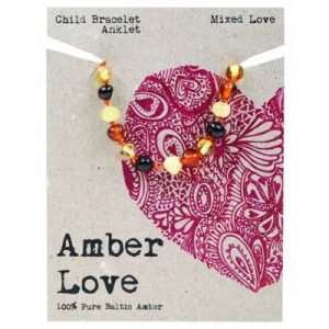 Amber Child Bracelet Anklet Mixed Love