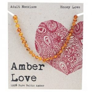 Amber Love Adult Necklace Honey Love