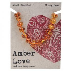 Amber Love Adult Bracelet Honey Love