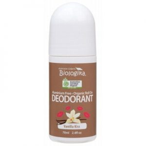 Biologika Roll On Deodorant Vanilla Kiss Organic