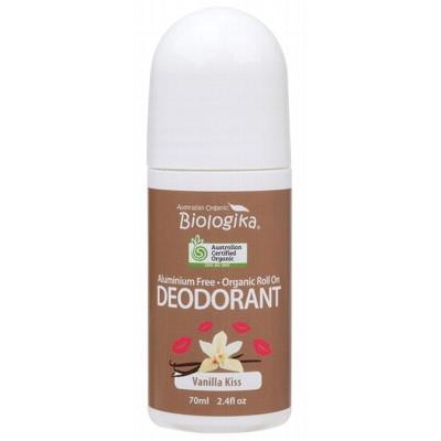 Biologika Roll On Deodorant Vanilla Kiss Organic