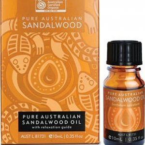Certified Organic Australian Sandalwood Essential Oil 10ml