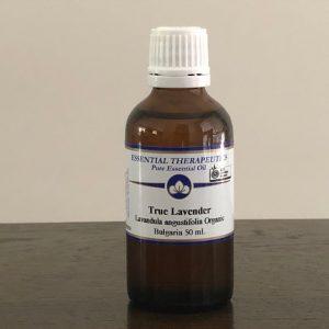 Essential Therapeutics Organic True Lavender Essential Oil 50ml