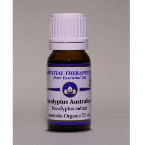 Essential Therapeutics Eucalyptus Australiana Certified Organic Essential Oil 50ml