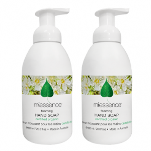 Miessence Foaming Hand Soap Value Pack of 2