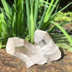Clear Quartz Crystal Cluster Q1 No. 2