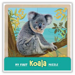 My First Wooden Jigsaw - Koala