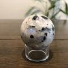 Rainbow Moonstone Sphere with Stand