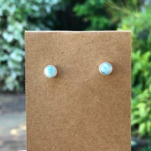 Larimar Stud Earrings E2542