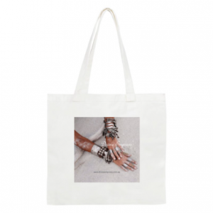 Divine Empress Small Cotton Tote Bag