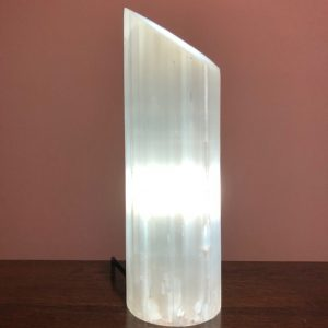 Selenite Polished Lipstick Lamp