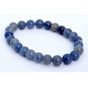 Blue Aventurine Crystal Bead Bracelet 8mm