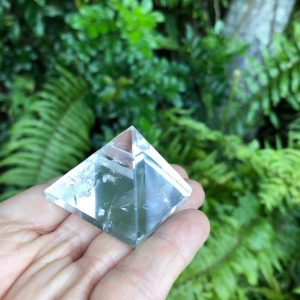 Clear Quartz Pyramid Q1