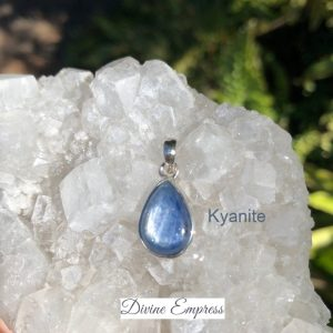 Kyanite Pendant No. P-7905 Sterling Silver