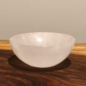 Selenite Bowl Round 7.5cm - 8cm