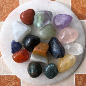 Mixed Tumbled Crystal Pack of 15