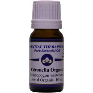 Citronella Organic Essential Oil