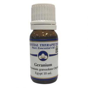 Essential Therapeutics Geranium Organic Essential Oil 10ml